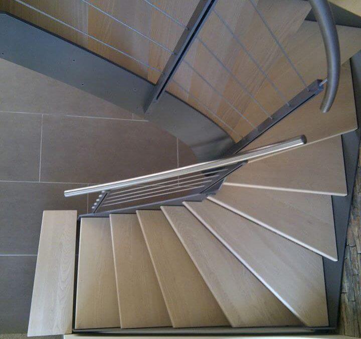 Pose d'escalier Bas-Rhin